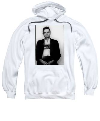Johnny Cash Mug Shot Vertical Sweatshirt
