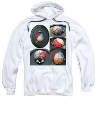 Ladybug On The Half Shell Sweatshirt