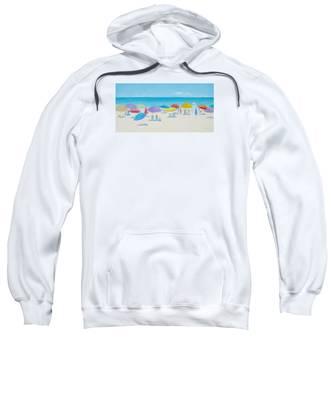 Main Beach East Hampton  Sweatshirt