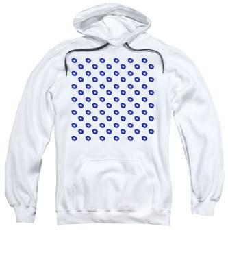 Morning Glory Pattern Sweatshirt
