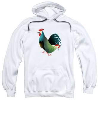 Morning Glory Hooded Sweatshirts T-Shirts