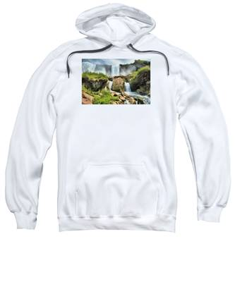 Niagara Falls Cave Of The Winds Sweatshirt