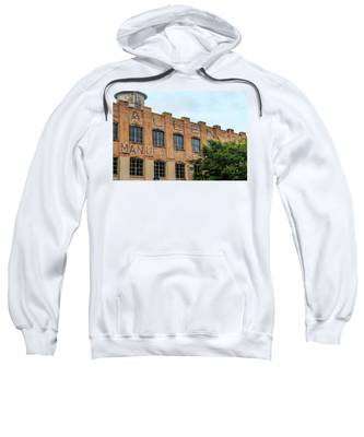 Old Mill Building In Buford Sweatshirt