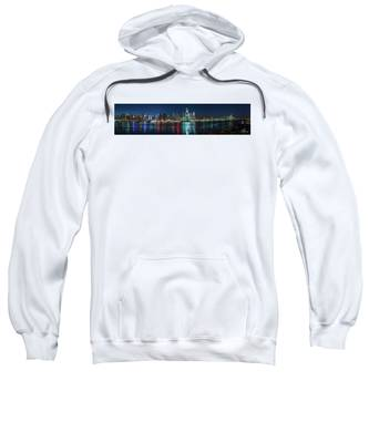 Panoramic Skyline-manhattan Sweatshirt
