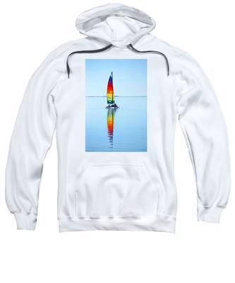 Rainbow Catamaran Sweatshirt