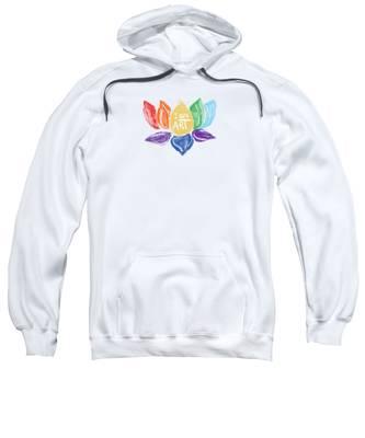 Lotus Hooded Sweatshirts T-Shirts
