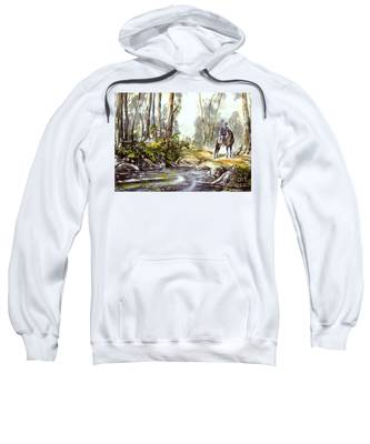 Rider By The Creek Sweatshirt