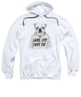 Dogs Portrait Hooded Sweatshirts T-Shirts