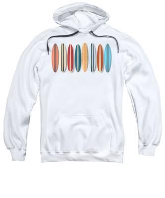 Beach Fence Hooded Sweatshirts T-Shirts