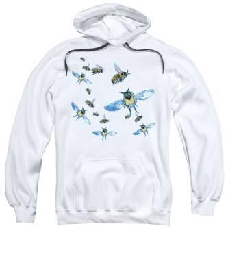 T-shirt With Bees Design Sweatshirt