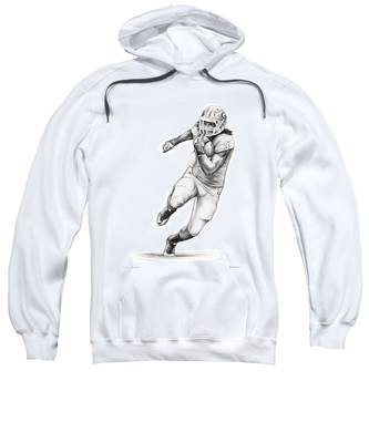 the best attitude 8146b e91c1 Todd Gurley Hooded Sweatshirts | Fine Art America