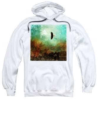 Treetop Eagle Flight Sweatshirt