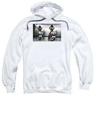 Two To Go And Go And Go. Sweatshirt