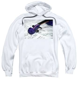 Violin Tuning Pegs  Sweatshirt