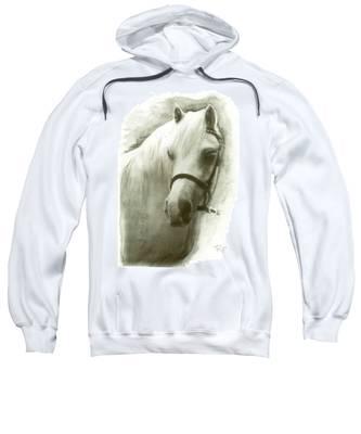 White Welsh Pony Sweatshirt