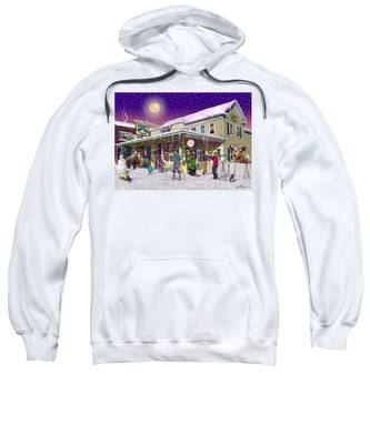 Zebs General Store In North Conway New Hampshire Sweatshirt