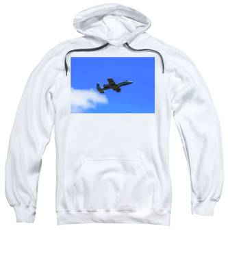 A-10c Thunderbolt II In Flight Sweatshirt