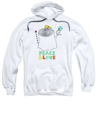 Peace Hooded Sweatshirts T-Shirts