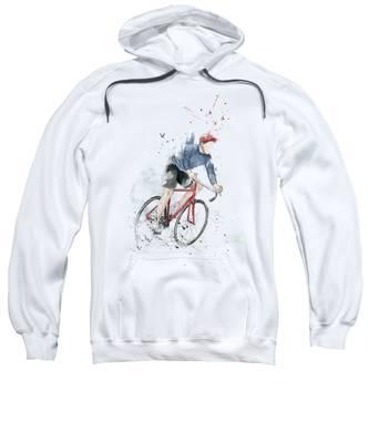 Watercolours Hooded Sweatshirts T-Shirts