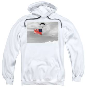 Socom Flag Jump In Selective Color Sweatshirt