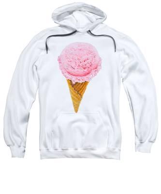 Strawberry Ice Cream Cone Sweatshirt