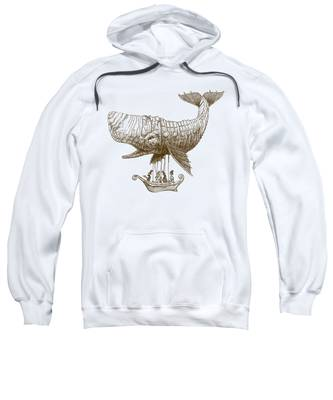 Whimsical Hooded Sweatshirts T-Shirts