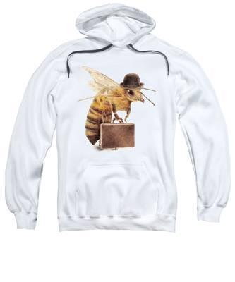 Honey Hooded Sweatshirts T-Shirts