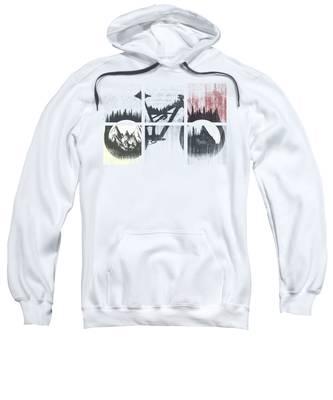 Cyclist Hooded Sweatshirts T-Shirts