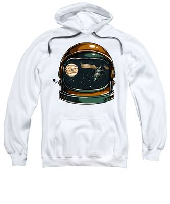 Outerspace Hooded Sweatshirts T-Shirts