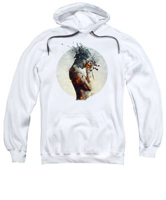 Young Woman Hooded Sweatshirts T-Shirts