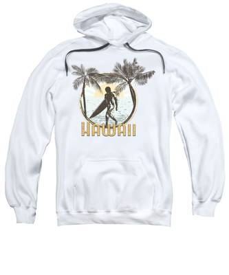 Hawaii Hooded Sweatshirts T-Shirts