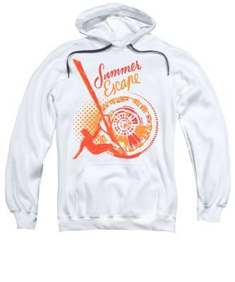 Sea Hooded Sweatshirts T-Shirts