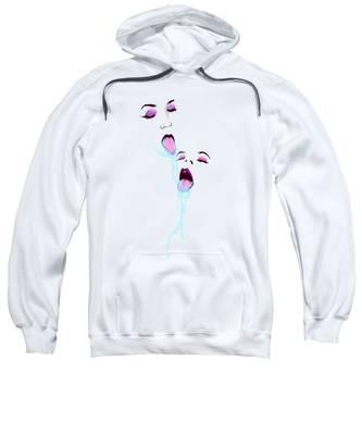 Pastel Hooded Sweatshirts T-Shirts