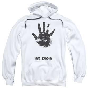 Hand Hooded Sweatshirts T-Shirts