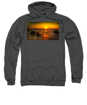 Montauk New York Summer Sunrise Sweatshirt