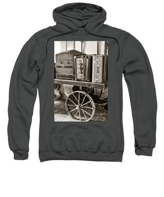 Train Station Luggage Cart Sweatshirt