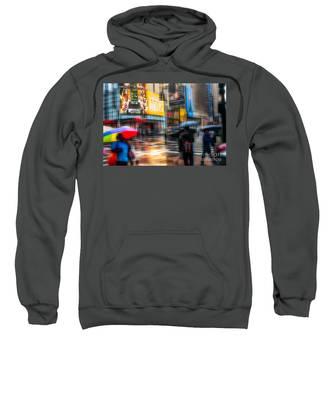 A Rainy Day In New York Sweatshirt