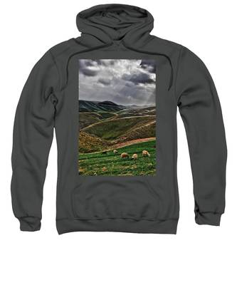 The Lord Is My Shepherd Judean Hills Israel Sweatshirt