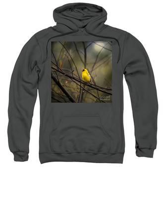 April Showers In Square Format Sweatshirt