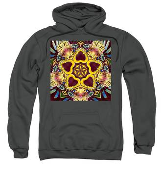 Sweatshirt featuring the digital art Arcturian Starseed by Derek Gedney