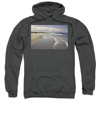 Beach At Santa Monica Sweatshirt