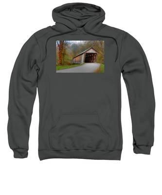 Bennett Mill Covered Bridge Sweatshirt