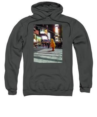Big Bird On Times Square Sweatshirt