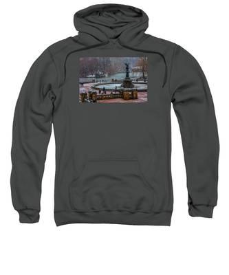 Central Park Snow Storm Sweatshirt