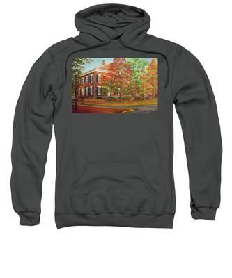 Dahlonega's Gold Museum In Autumn Sweatshirt
