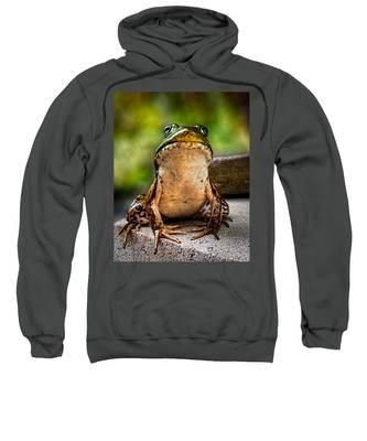 Frog Prince Or So He Thinks Sweatshirt