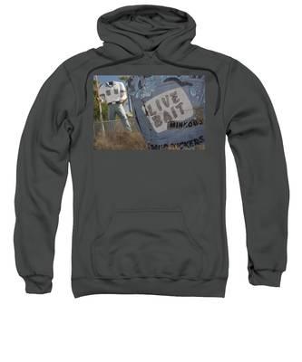 Live Bait And The Man Sweatshirt