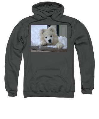 Loving The Snow Sweatshirt
