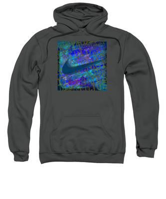Nike Just Did It Blue Sweatshirt
