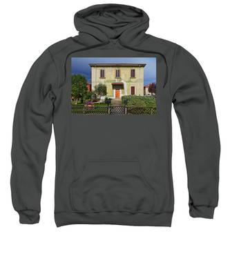 Old House In Crespi D'adda Sweatshirt